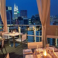 Dinner with a stunning view of KL's City Skyline