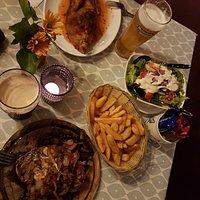 unser Abendessen