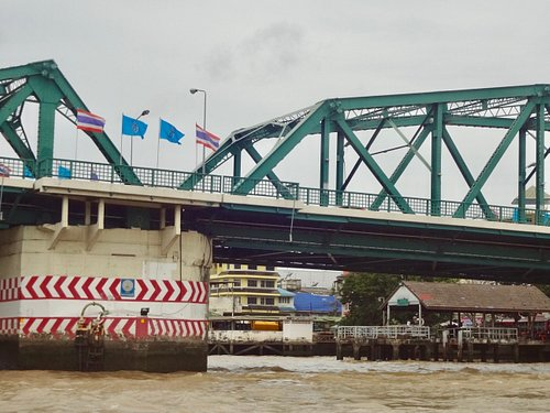 The bridge opening system.
