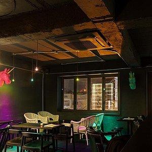 Inside of the Bar
