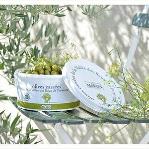 Les excellentes olives cassées de la boutique Jean Martin