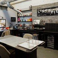 One of 26 artists studios.