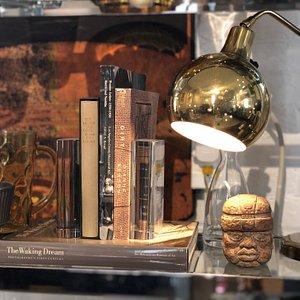 Bookshelf Display of Curiosities