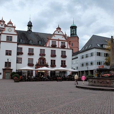 Old townhall at the Marktplatz