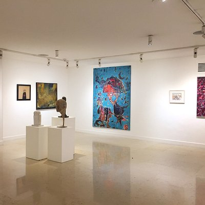 Featuring contemporary and modern art local and regional artists
