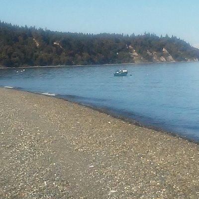 Possession Point Beach
