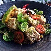 ASIA Blauer Marlin 💕 Warm Salat