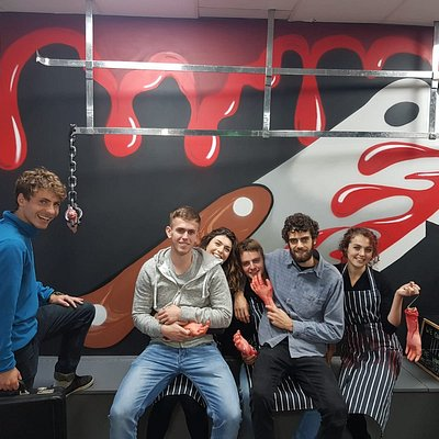 Team G - Beat the Butcher in record time!