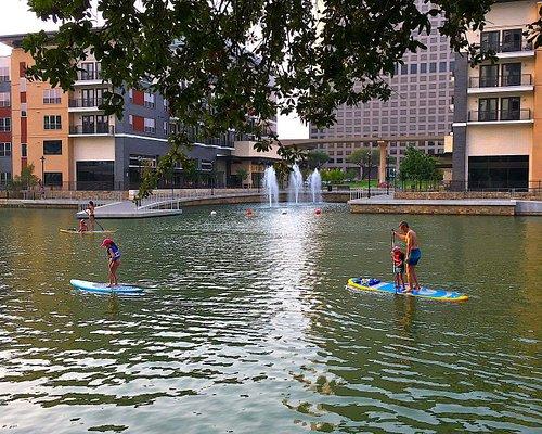 Paddle along Water Street!