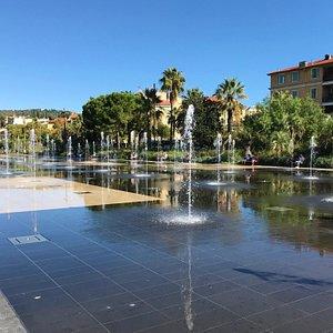Fountaine Miroir d'eau