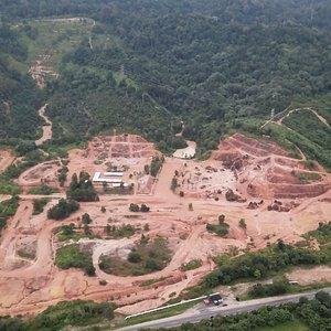 Ulu Choh Dirt Park Drone photo