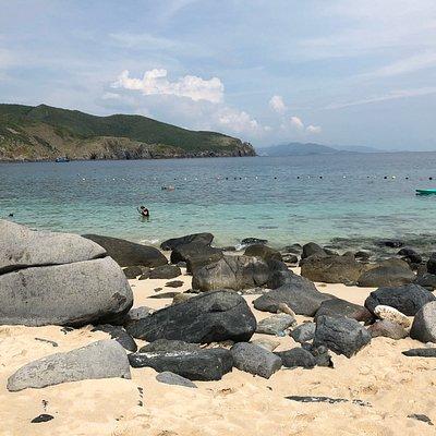 пляж черепах