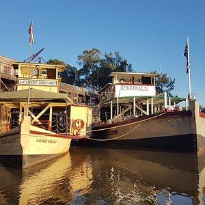 We run the Historic Fleet of Paddlesteamers, here the PS Alexander Arbuthnot & PS Pevensey