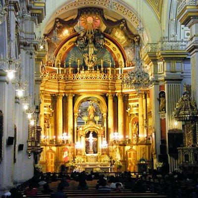 El retablo principal
