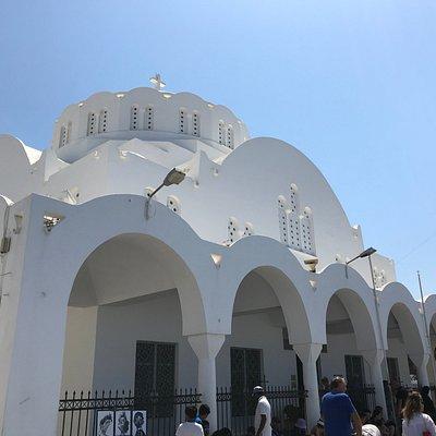 L'esterno della Orthodox Metropolitan Cathedral