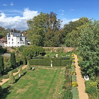 Fenton House - Aerial view of the gardens