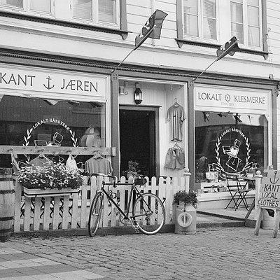 Kant butikken på sommeren
