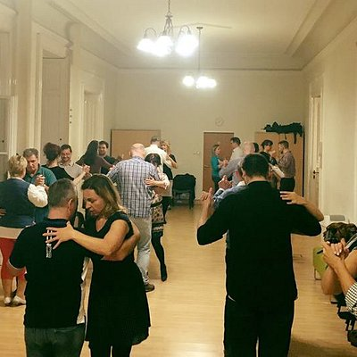 Tango class on Thursday