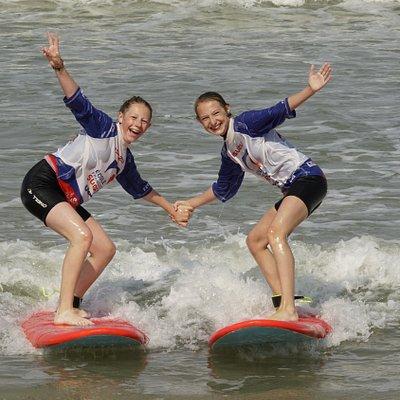 Le surf c'est du surf et du partage!