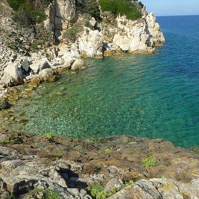 Spiaggia La Crocetta, Marciana Marina