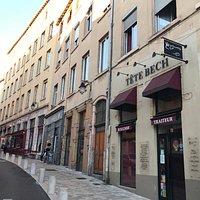 Grande Rue de la Croix Rousse.