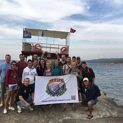 Nemo Dive Team,ARKAS Sigacik Tour