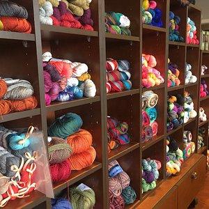 The Twisted Ewe in Boise, a yarn shop