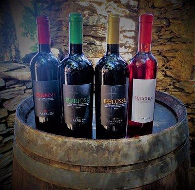 Juannè, Curiosu, Delussu, Bucchiau, Vini, wine, cannonau, jerzu, Sa Pruna, DOC e IGT