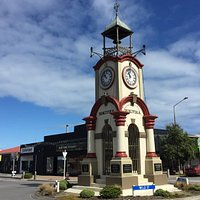 Hokitika Town Clock in the Town Centre