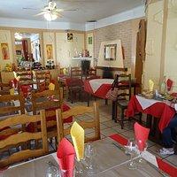 La salle intérieure de Restaurant