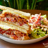 The Pulled Pork Grilled Cheese