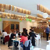 L'intérieur du Restaurant Le Café du Lam