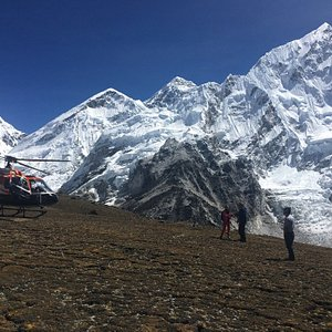 Everest base camp helicopter tour with landing 4 hours trip