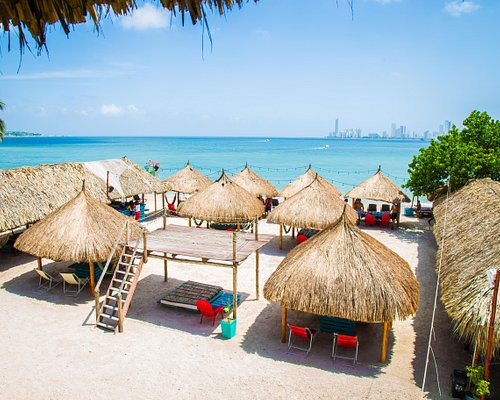 Bomba Beach Club, Tierrabomba, Cartagena