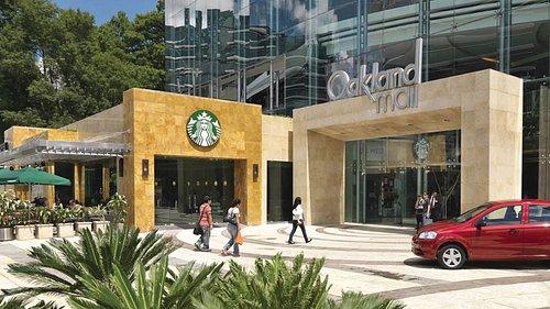 Exterior de Centro Comercial, Oakland Mall