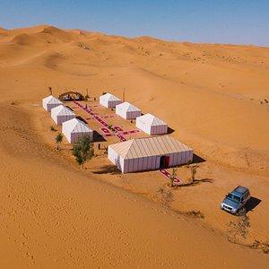 luxury camp Erg chabi