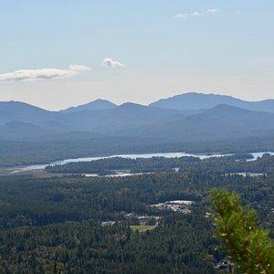 Summit of Baker Mountain