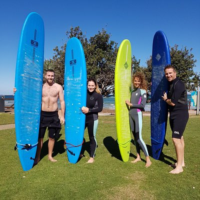 Learning to surf is a really fun activity to share with friends & family!