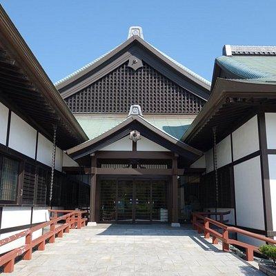 徳島城博物館の入口