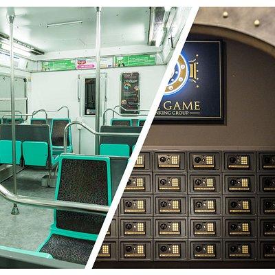THE GAME - 750m2 d'Escape Game en plein coeur de Paris !