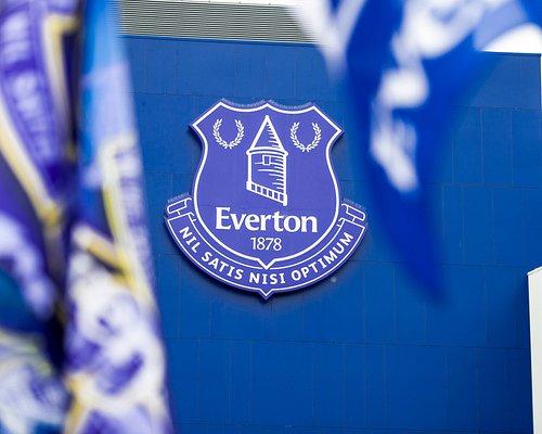 Everton Crest on Goodison Park