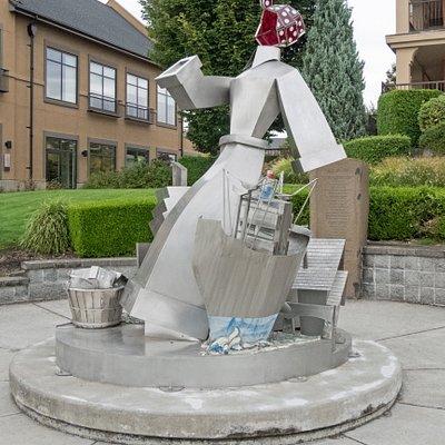 Wendy the Welder Sculpture