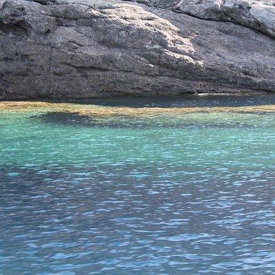 Acqua limpidissima e spiaggette raggiungibili solo dal mare