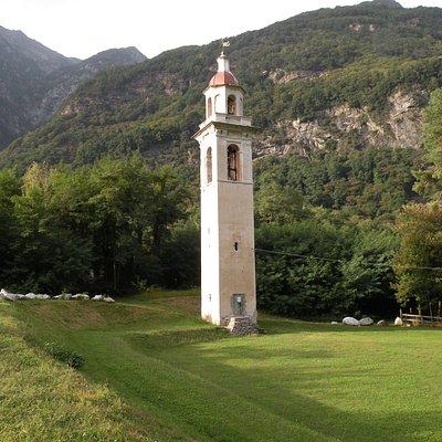 Campanile del 1600 già Roncaglia superiore a Piuro