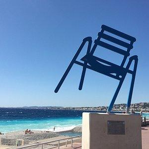 La Chaise Bleue de SAB