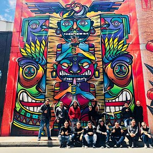 Hotel  Grand Haytt Bogotá en el tour del Grafiti en Distrito Grafiti Parche Cachaco Tours