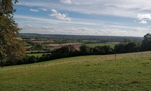 Less than an hour from SE London, the beautiful Kent countryside has some lovely walks