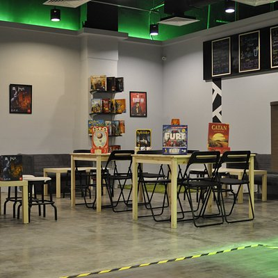 The board game lounge @CodeFactoryMY
