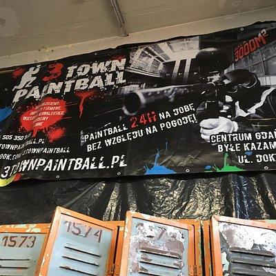 The 'Front Door' of 3 Town Paintball