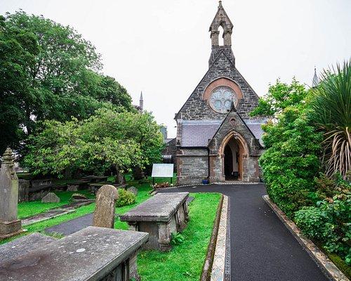 cimitero e panorama